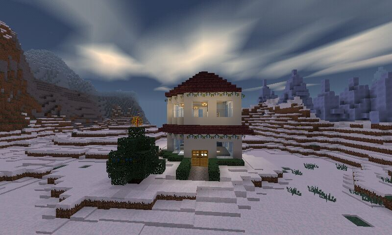 Christmas Minecraft World.Christmas World And Mprr Minecraft Amino