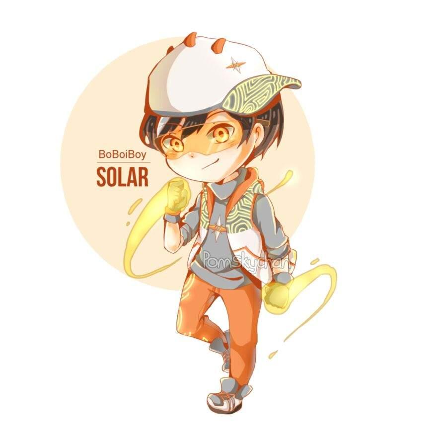 Boboiboy Solar Boboiboy Amino