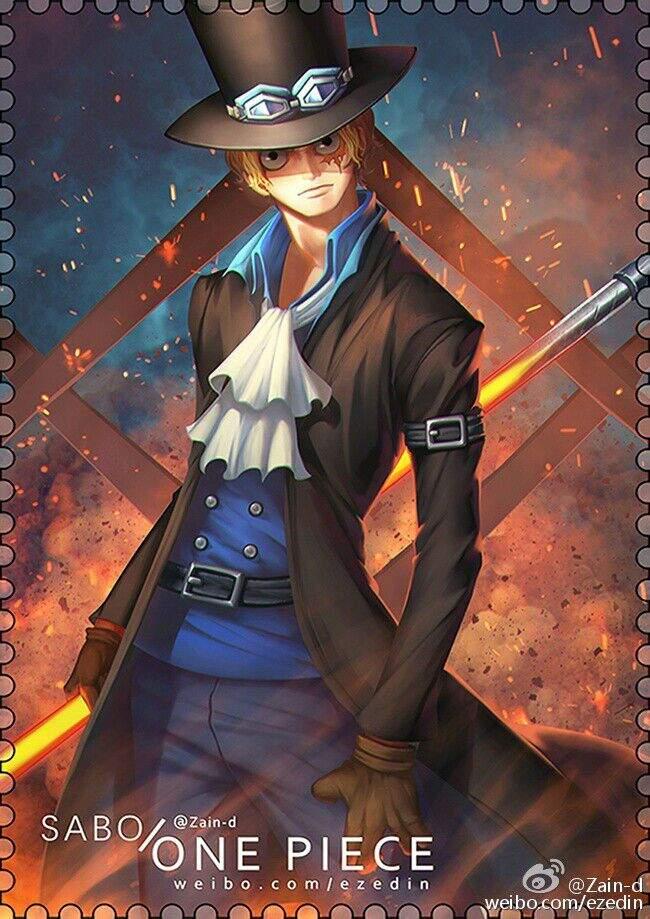 Sabo Fan Art¦¦One Piece (Happy Birthday Seki🎉🎉🎉)   Anime Amino