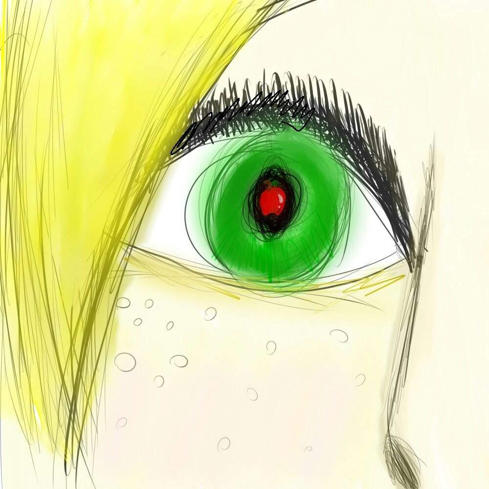 He hecho un Dibujo de AppleJack Humana Mitad de la Cara ...
