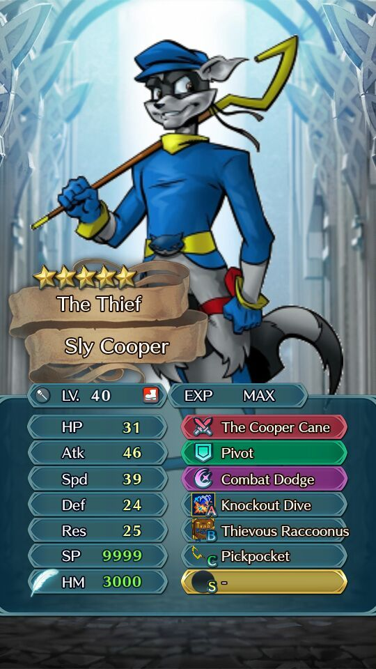Custom Banner Sly Cooper Crossover Fire Emblem Amino