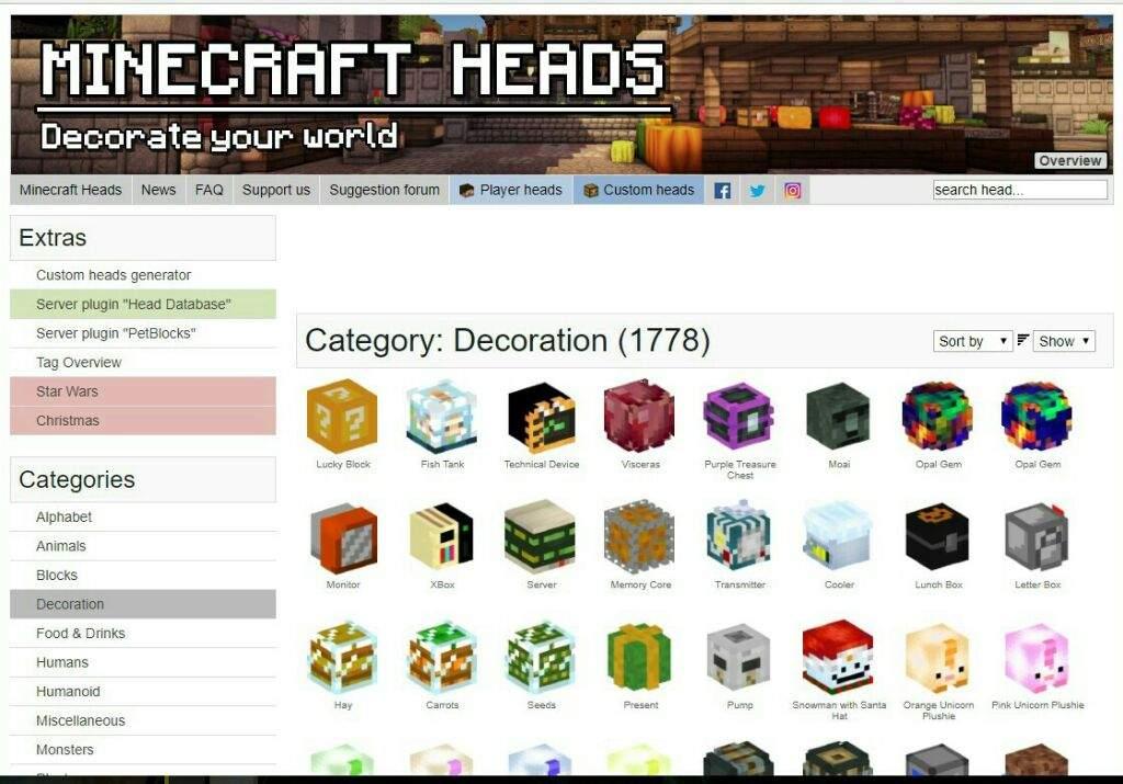 Quick Build Ep 5 Custom Heads Pc Only Minecraft Amino