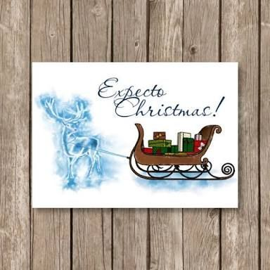 as apart of your entry you can also design and write christmas cards for your friends here on amino or for harry potter characters