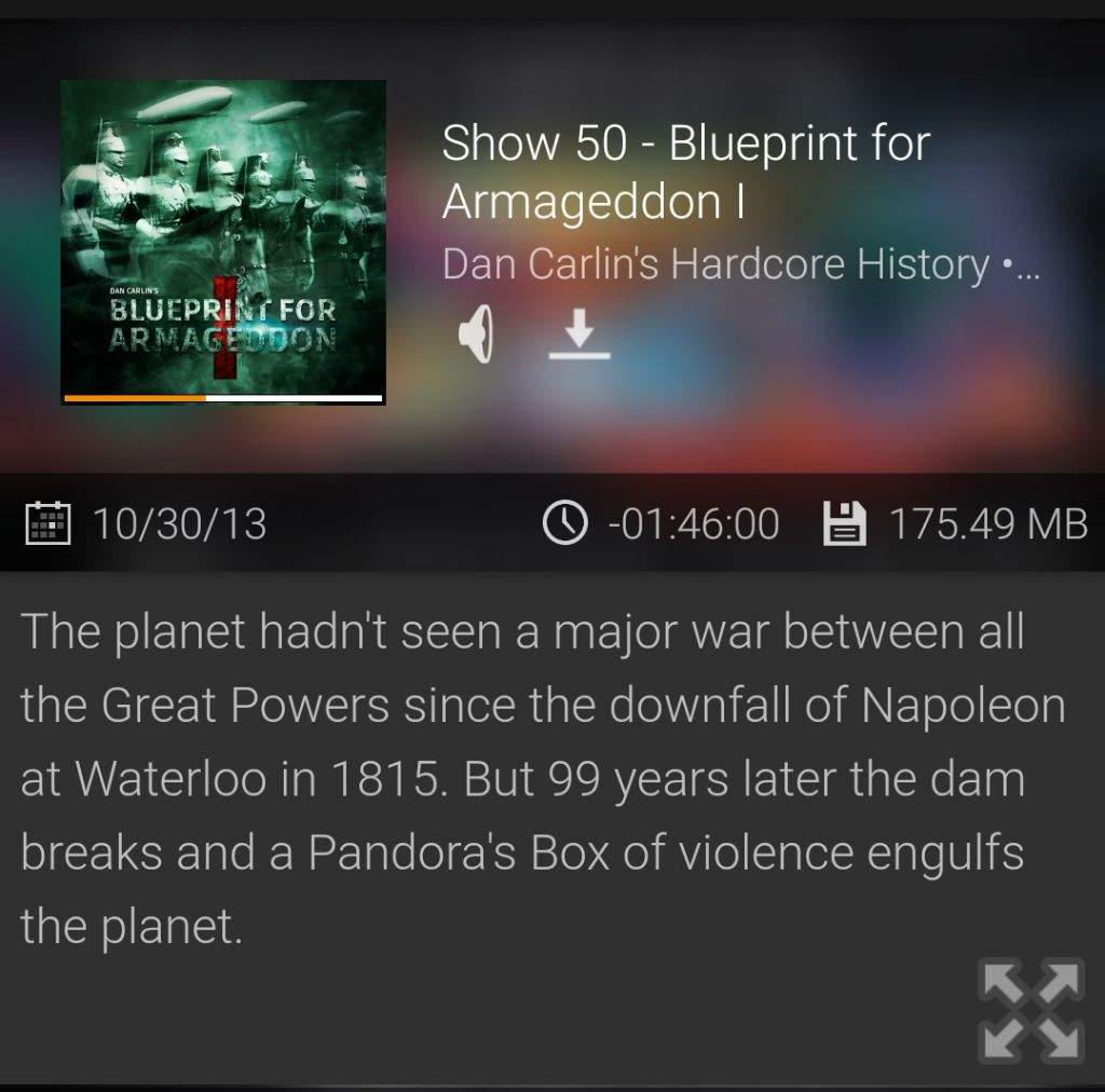 History podcast suggestion studying amino amino the first episodes are a series called blueprint for armageddon about wwi and how it set the stage for all the following events among which wwii malvernweather Images