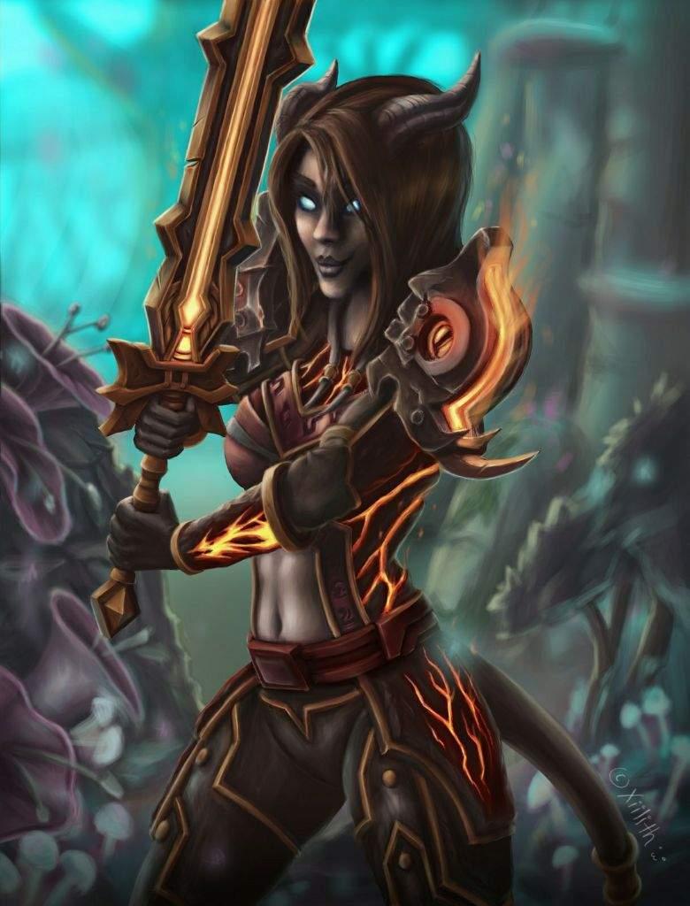 Draenei warrior   Digital-Art Amino