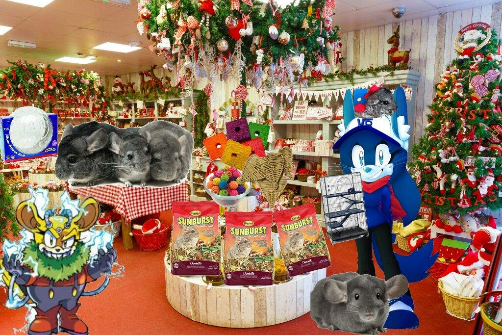 ive decided to partner with thunderbot to give away free holiday spirit cutie chincillas that will provide you with hours of love - Sonic Christmas Hours