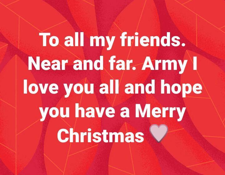 Merry Christmas everyone 💜💜💜💜 | ARMY\'s Amino