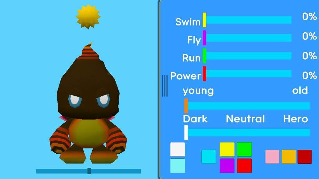Emotion color chao ball Super Saiyan