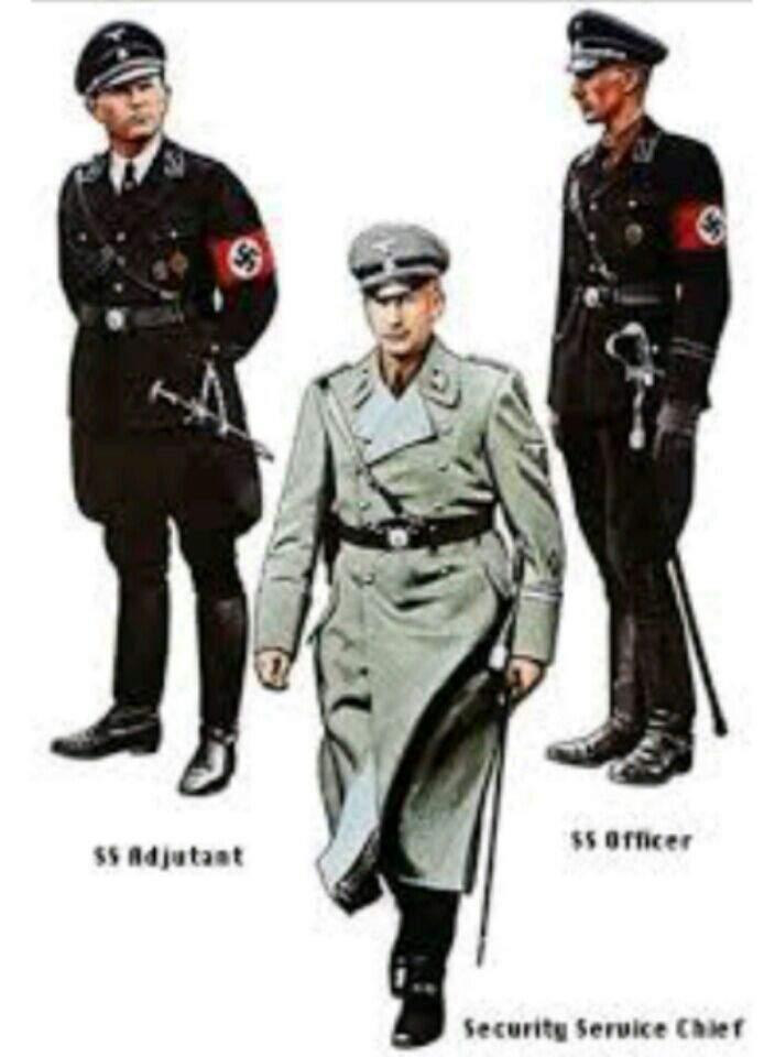 Name a better looking uniform than the Nazi uniform  Protip
