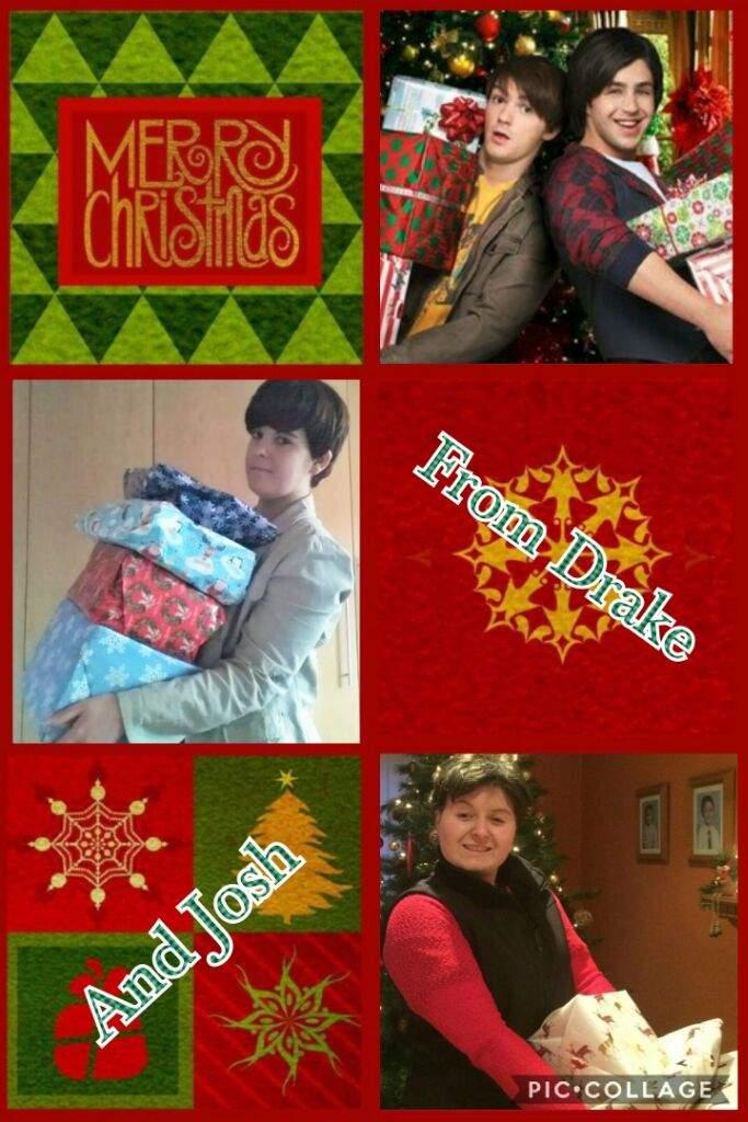 Drake And Josh Christmas.Merry Christmas Drake Josh Drake Parker Cosplay Amino