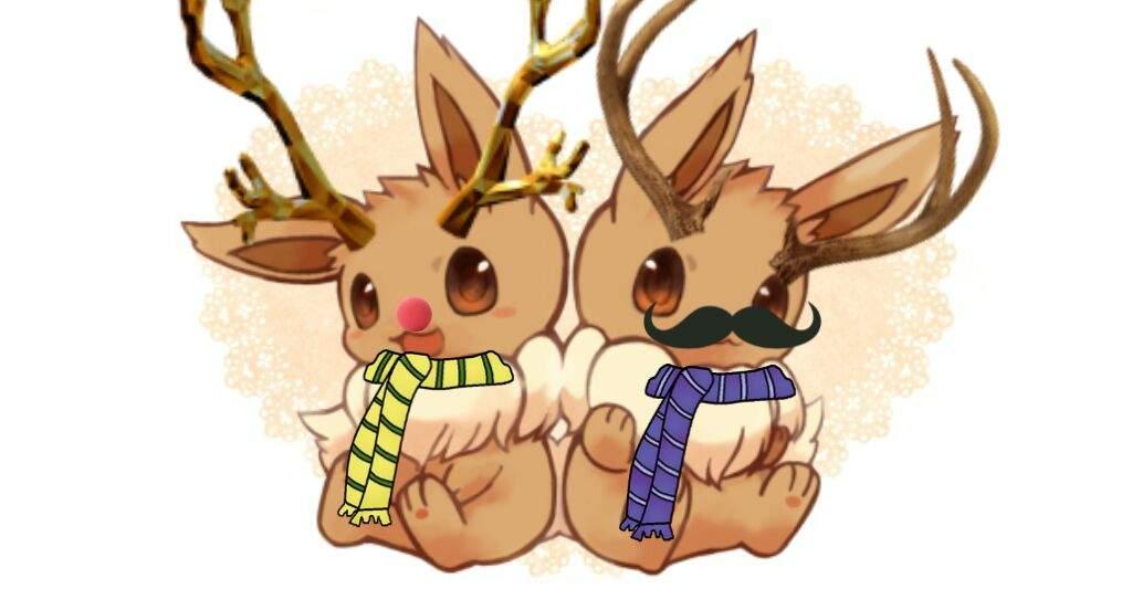 Christmas Eevee.Christmas Eevee Pokemon Amino