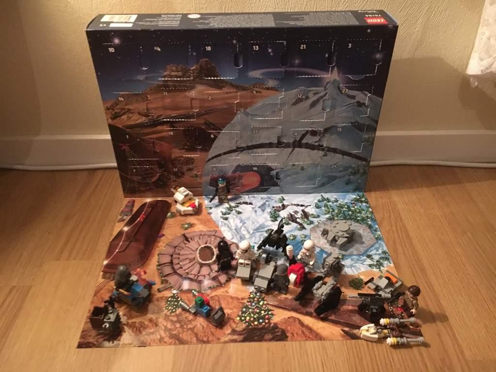Lego Starwars Advent Calendar 24 Spoilers Merry Christmas