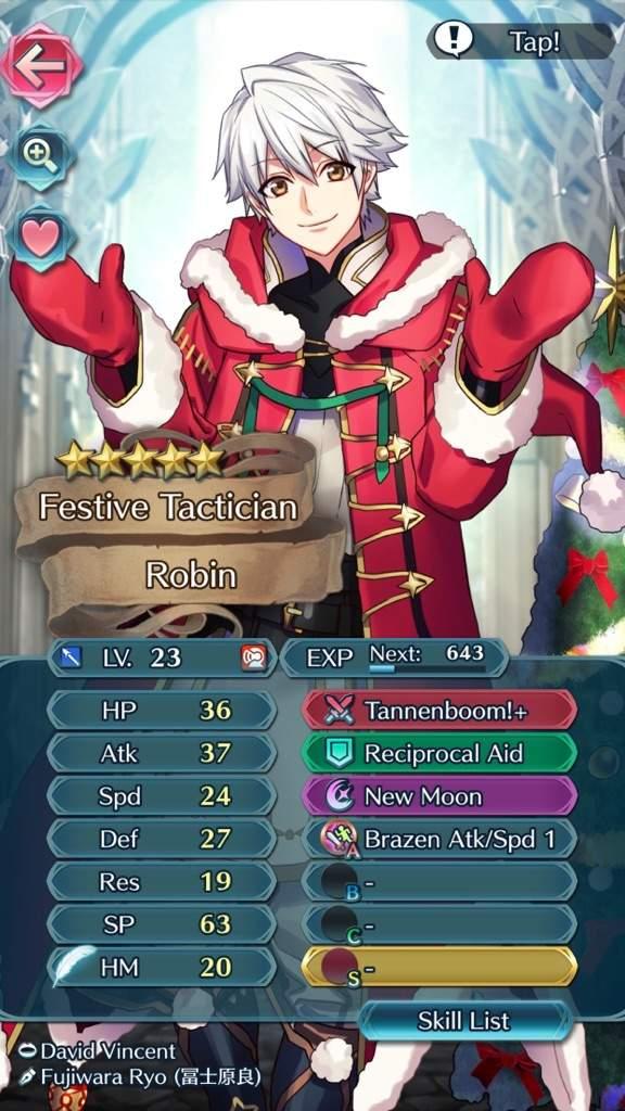 merry christmas to me got christmas robin fire emblem heroes amino - Merry Christmas To Me