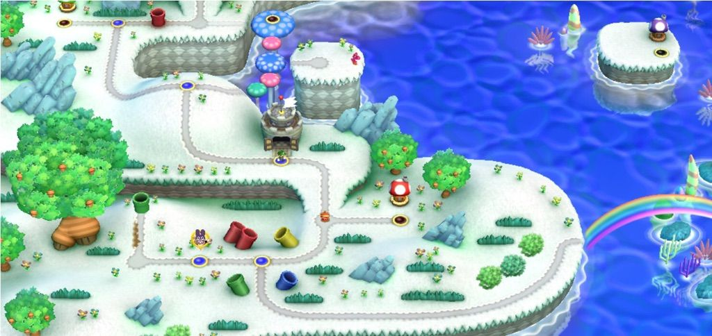 Super Mario World Christmas.Luigi Saves Christmas Hack Review Mario Amino