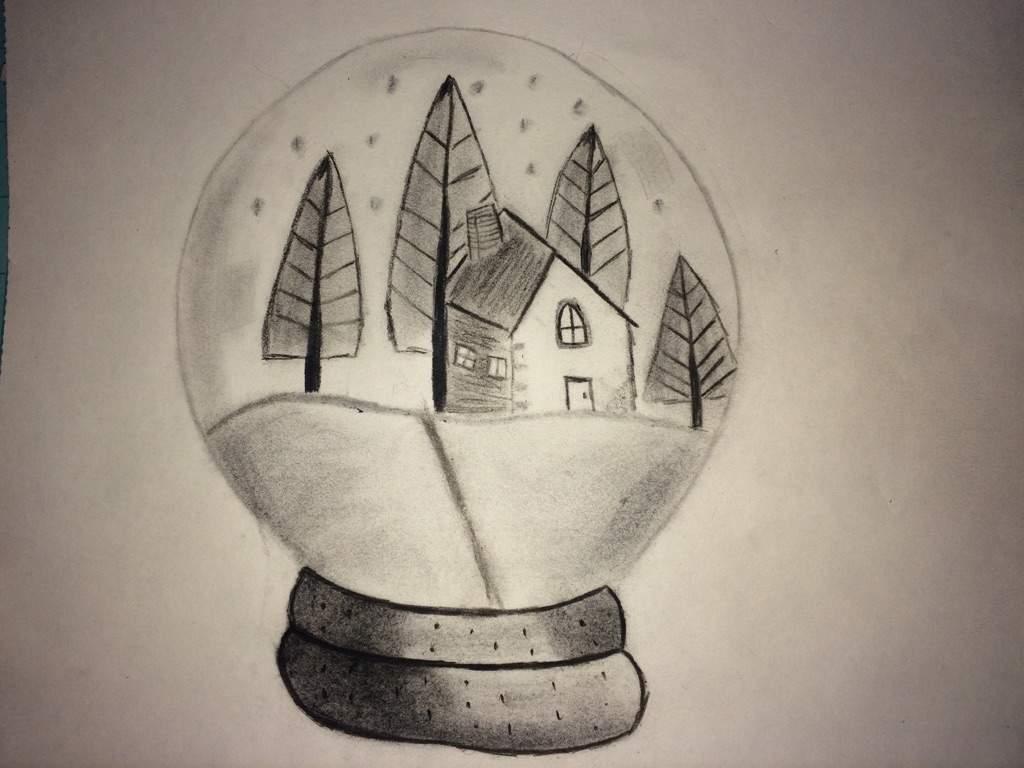 christmas snow globe art crafts and diys amino