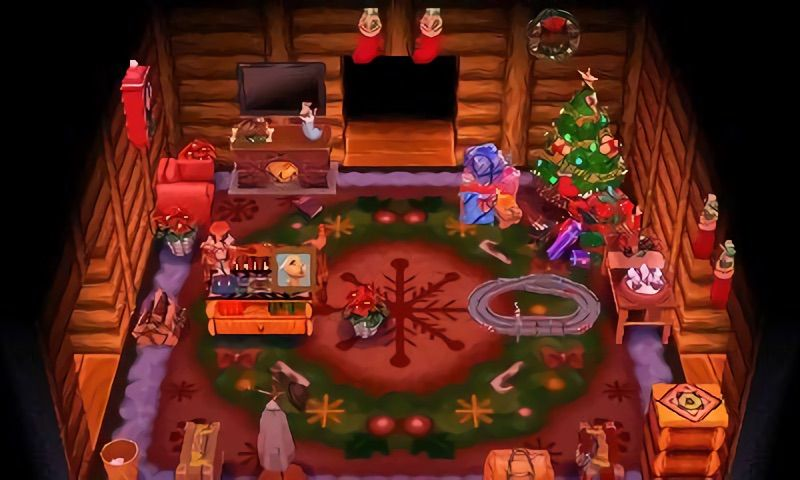 Interior Design Christmas Animal Crossing Amino