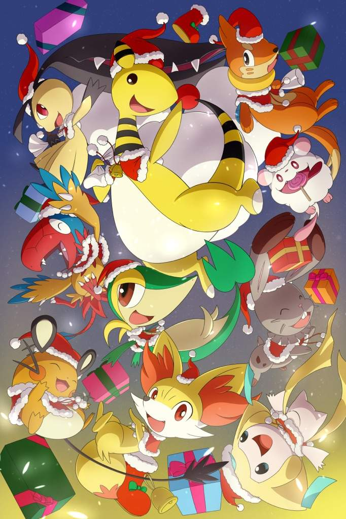 Pokemon Christmas.Merry Christmas Amino Pokemon Amino