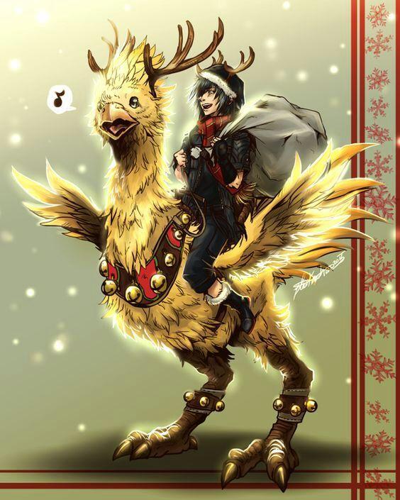 Final Fantasy Christmas.Merry Christmas Final Fantasy Amino