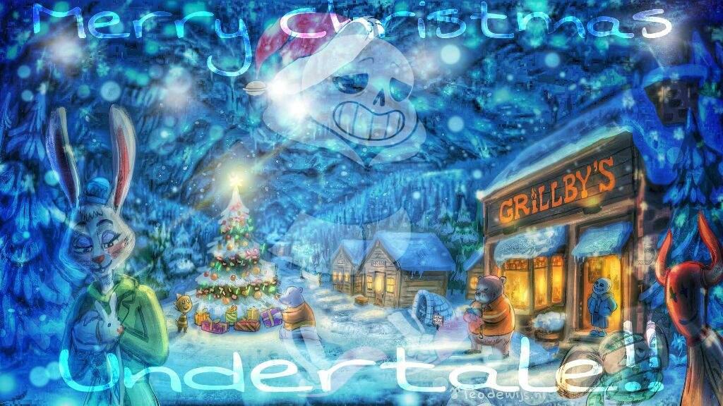 Christmas Background Picsart.Merry Christmas Undertale Amino