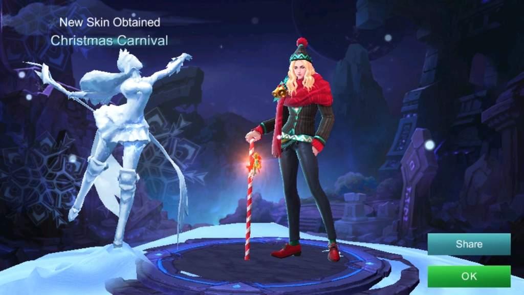 Christmas Carnival Lancelot.Lancelot S Christmas Carnival Skin Mobile Legends