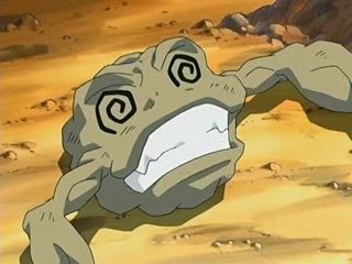 Image result for geodude fainted