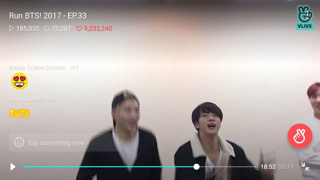 screenshots from BTS RUN episode 33 p 2 | ARMY's Amino