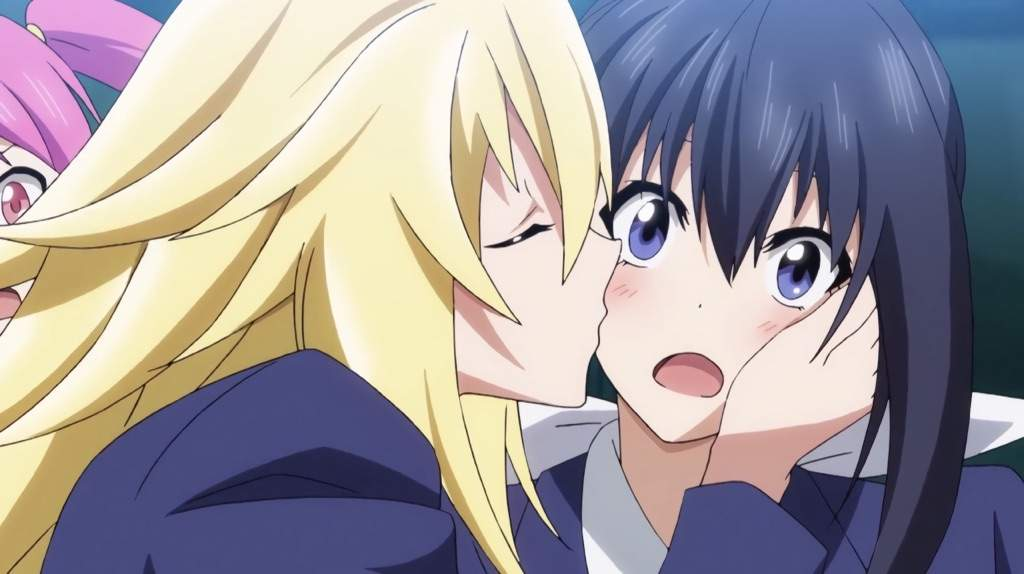 I Love Anime Kissing Scenes So Sexy And Good Some Of Them Some Alright I Just Love The Pleasure Of Just Seeing It In Anime So Cool And Sexy