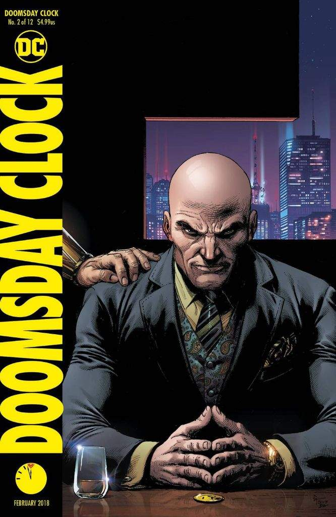 Doomsday Clock Issue 2 Review Comics Amino