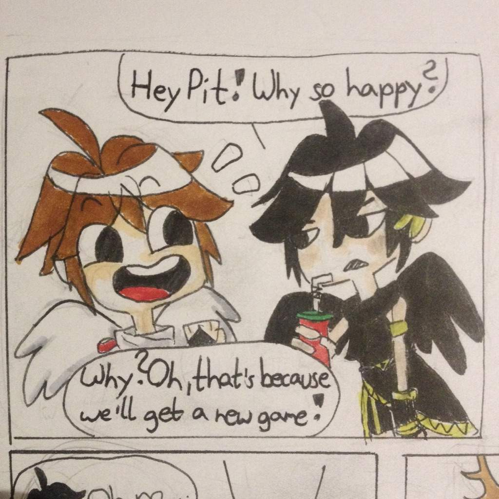 A Kid Icarus Christmas Comic Made By Me With Englishfails