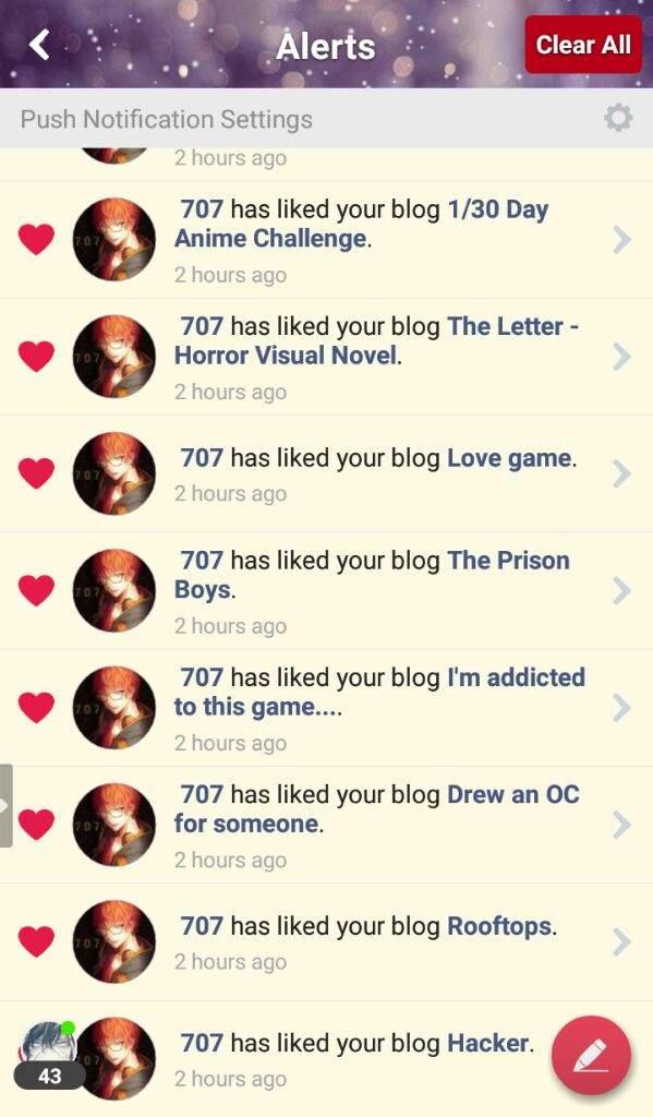 Error, 707 has hijacked your post | Anime City! Amino