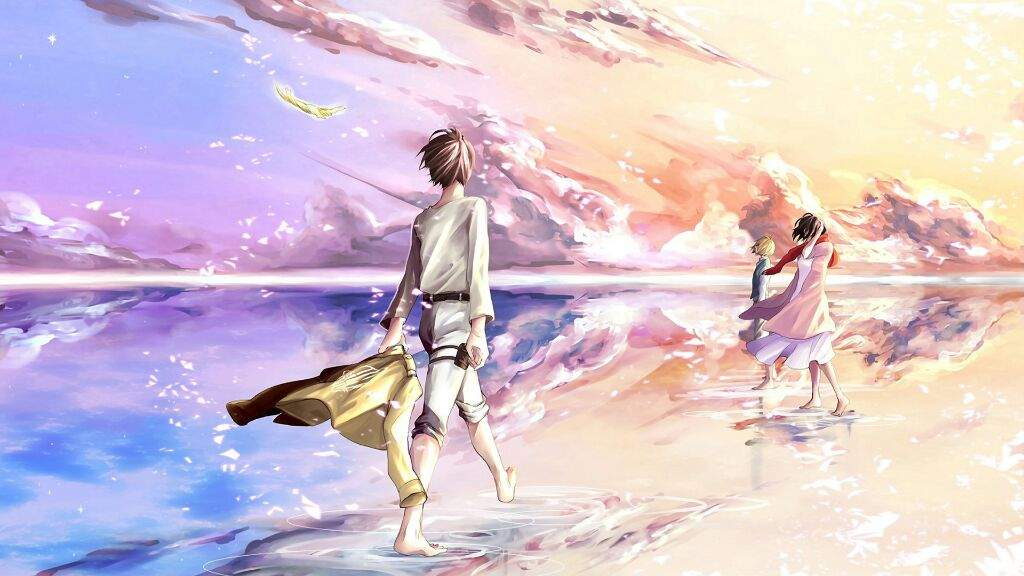 They Finally Saw The Ocean In The Manga Attack On Titan Amino
