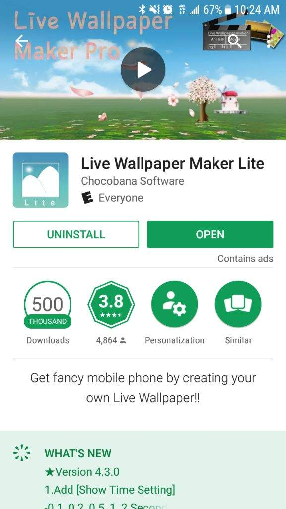 How to make BTS live wallpapers (android)