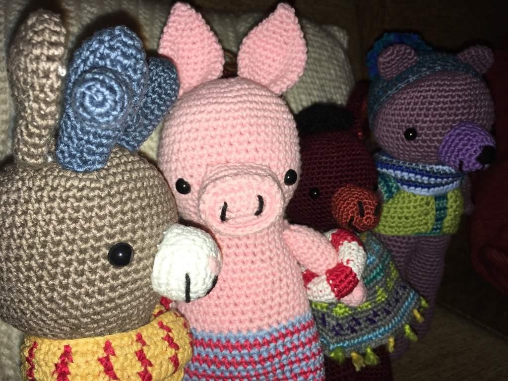 Pedro Von Ditto Pig Yarn Crafts Amino