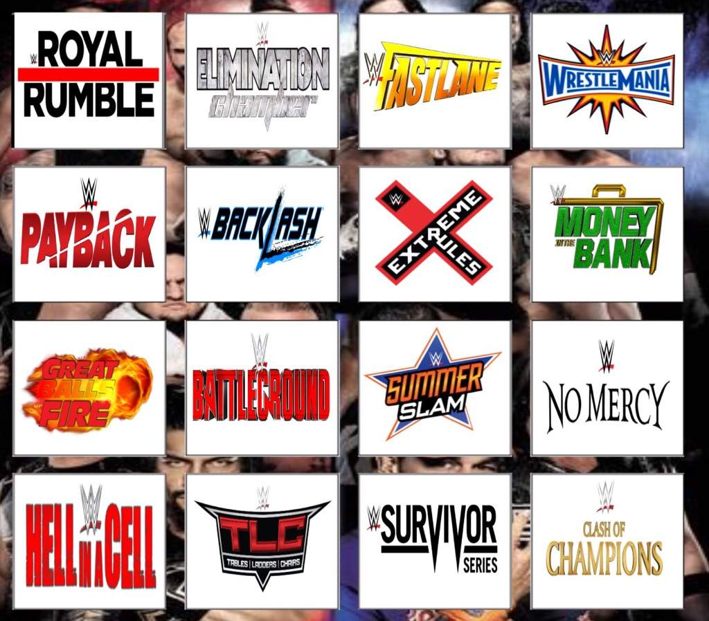 Wwe Ppv Schedule | Examples and Forms
