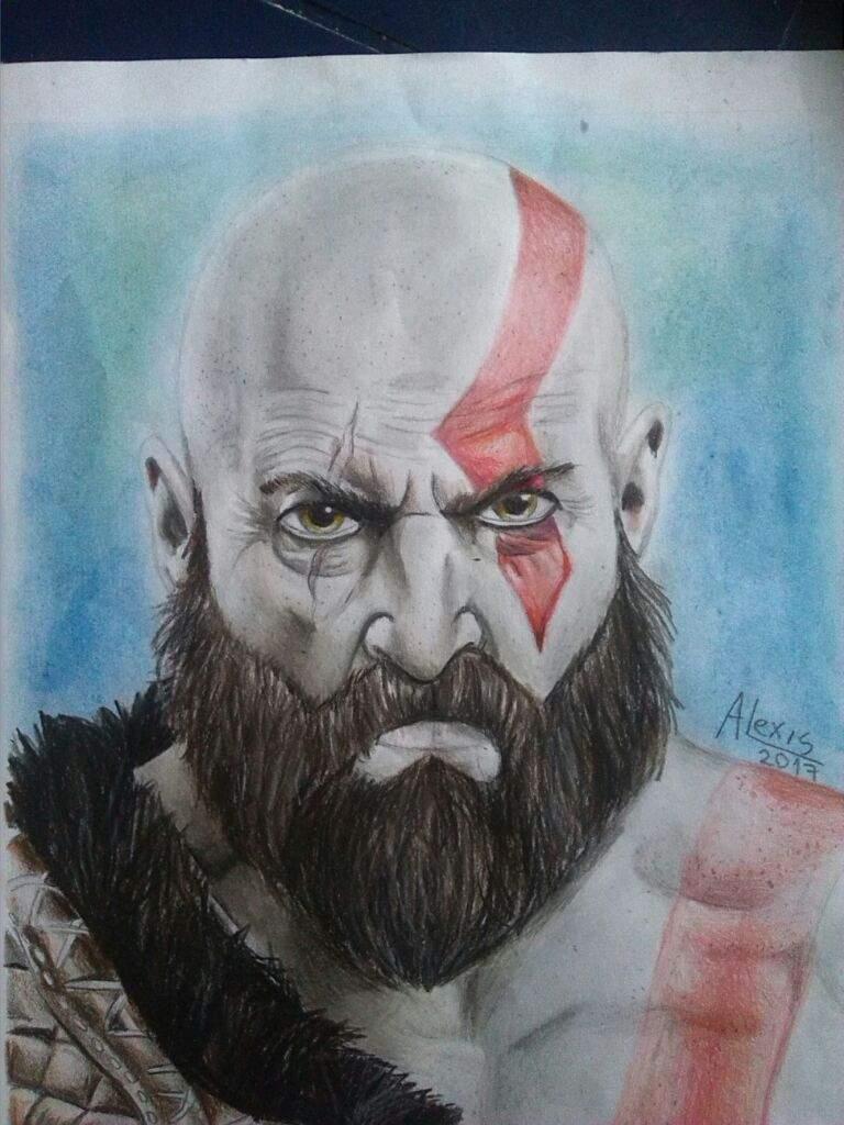 Kratos God Of War Dibujarte Amino