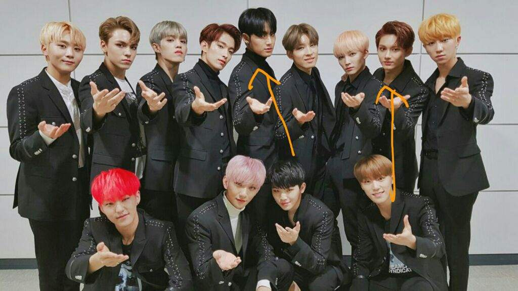 MINGYU AND JUN ALTERNATING USE OF INNER POLOS | Carat ❲캐럿