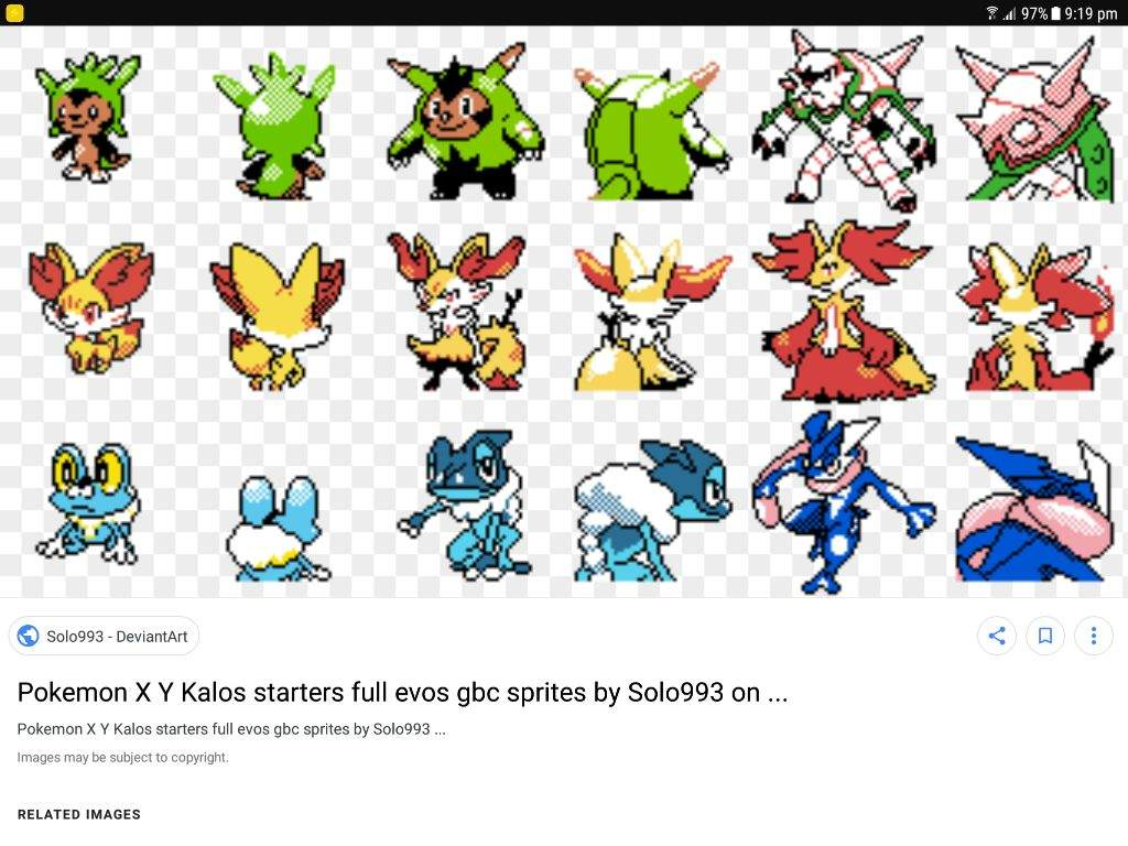 Pokemon X Y Starters In Red And Blue Sprites Shinx Crew Amino