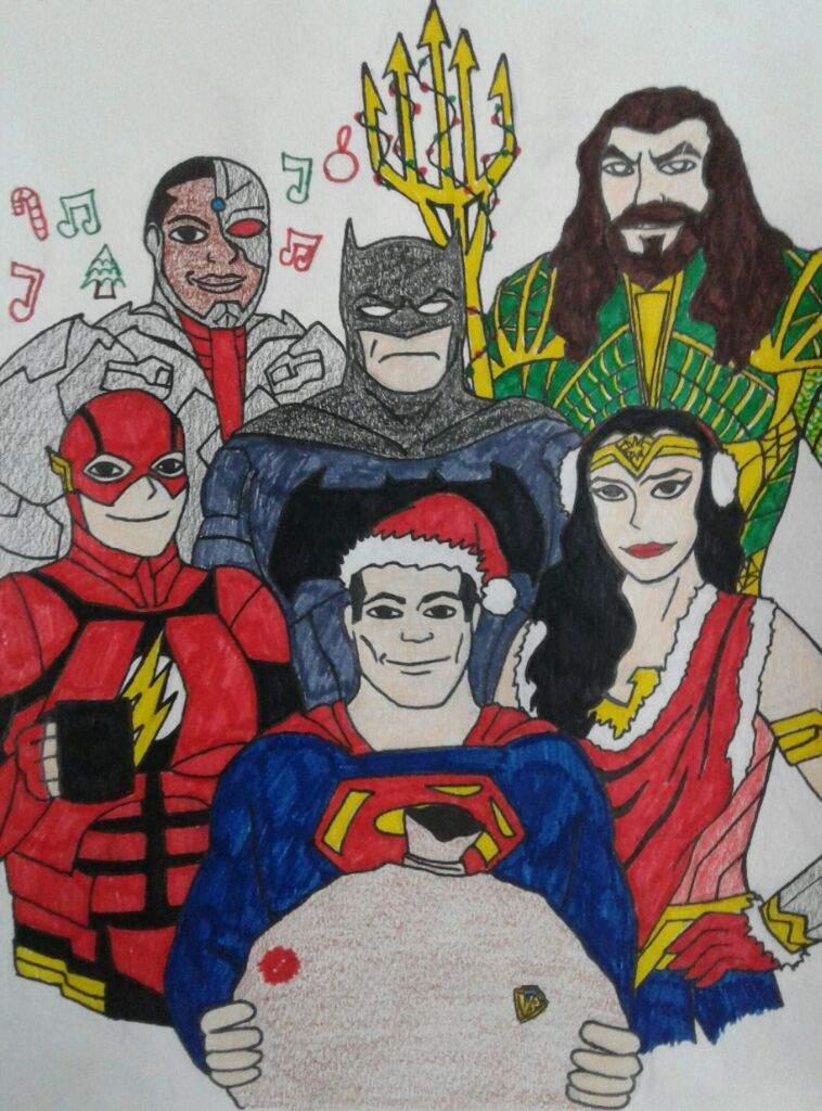 Justice League Christmas | Comics Amino