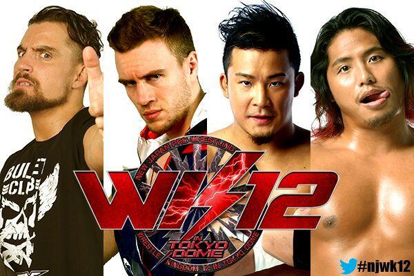 Image result for Wrestle Kingdom 12 4 way