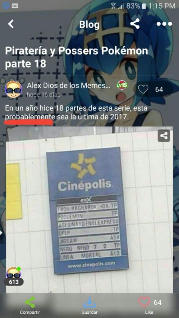 Piratería y Possers Pokémon parte 19(1/2) | •Pokémon• En Español Amino