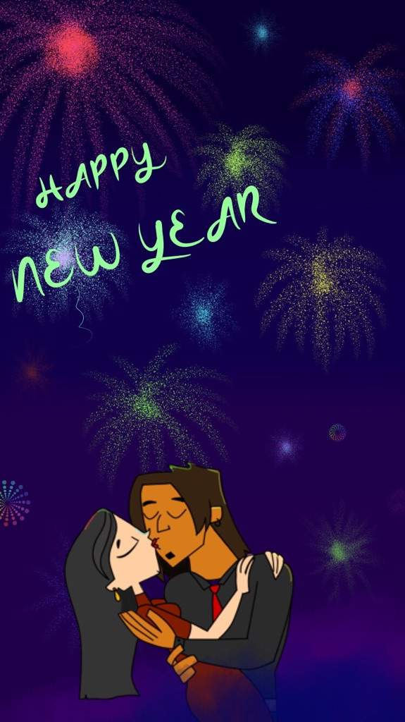 first new years kiss
