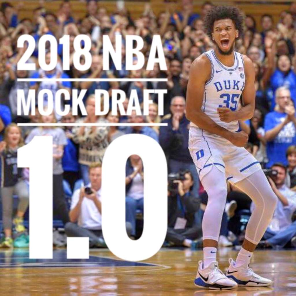 Predicting The Future All Stars Of 2018 Nba Rookie Class: 2018 NBA Mock Draft 1.0
