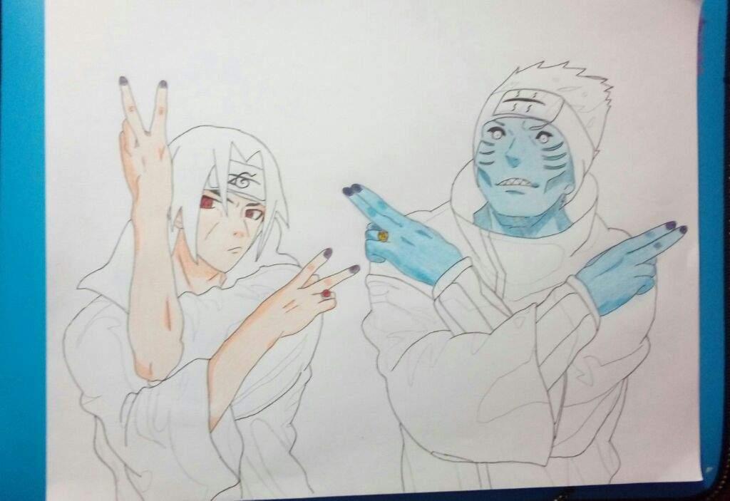 Akatsuki no Menbā // Itachi y Kisame | •Anime• Amino