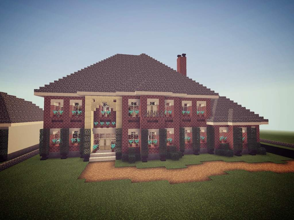 Colonial Mansion Minecraft Amino