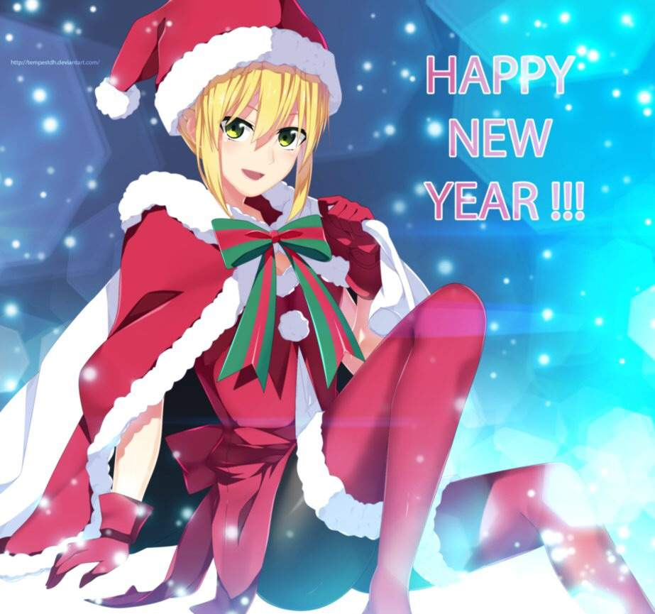 happy new year 2018 anime amino