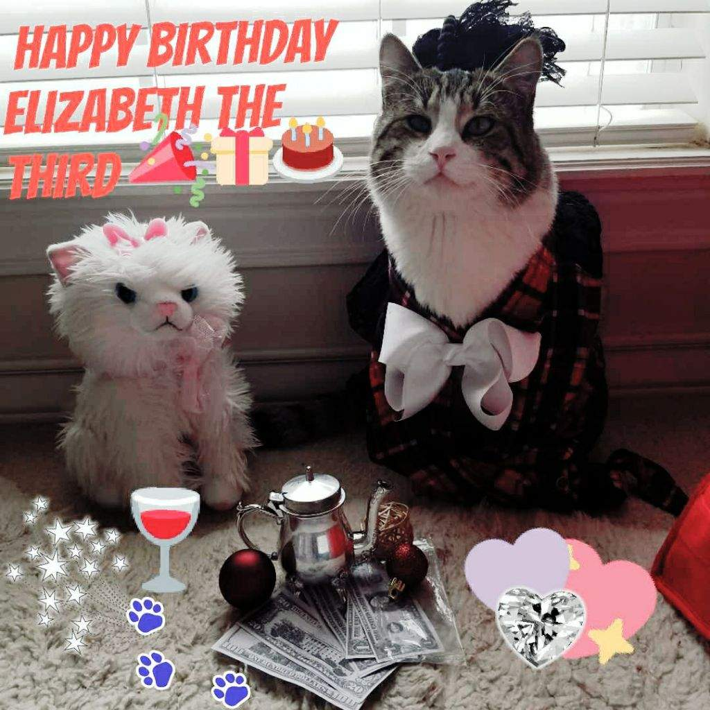 Happy Birthday Elizabeth The Third!!