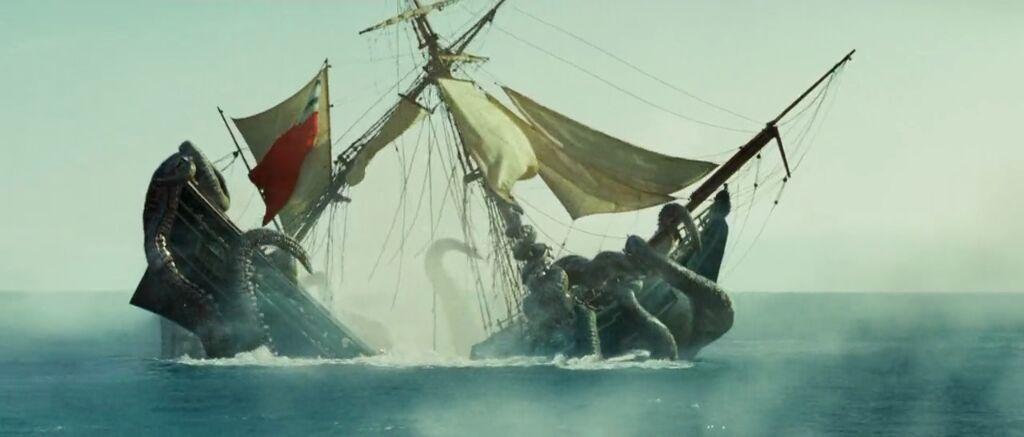 Kraken | Pirates of the Caribbean Amino