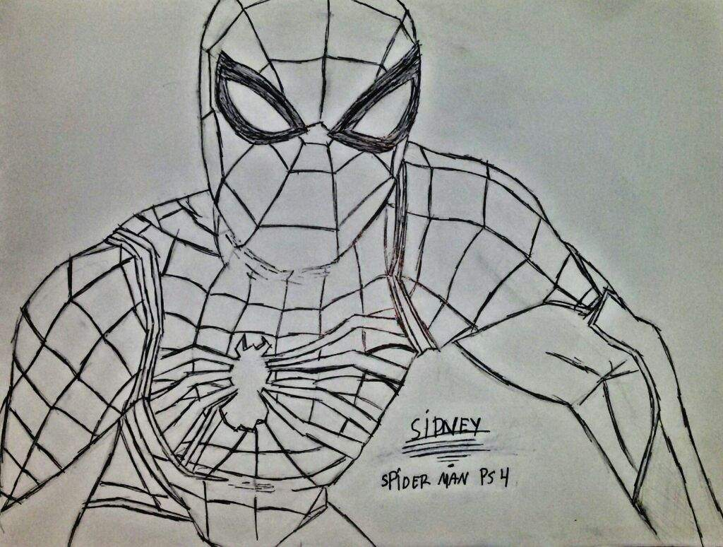 Meu Desenho Do Homem Aranha Ps 4 Homem Aranha Brasil Amino
