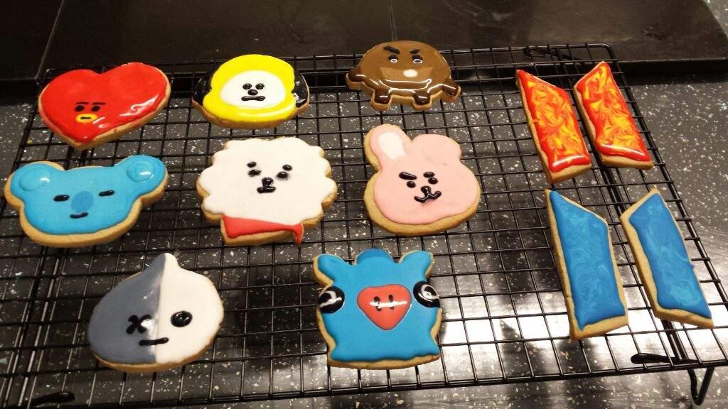BT21 Cookies!!