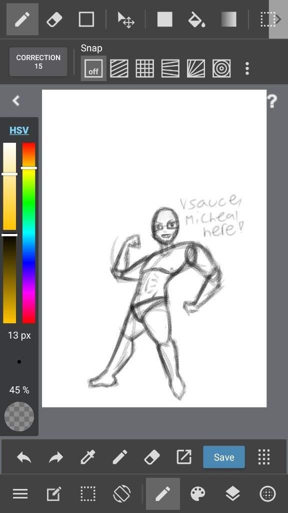 How I draw my poses | Weirdos Amino